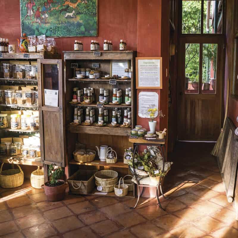 El café de los mayas esta en Copán Ruinas, Sazón Sula