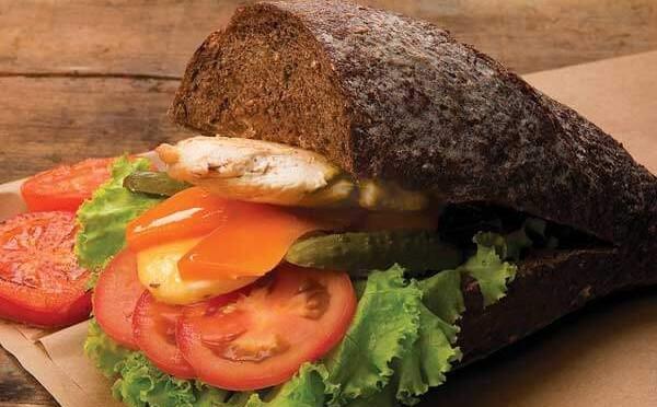 Receta Black Sesame Sandwich