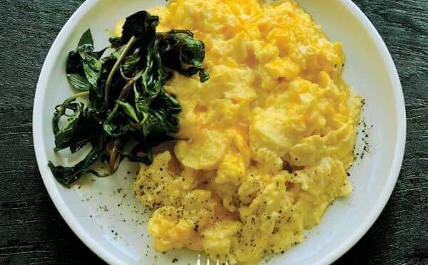 Receta Huevos Revueltos