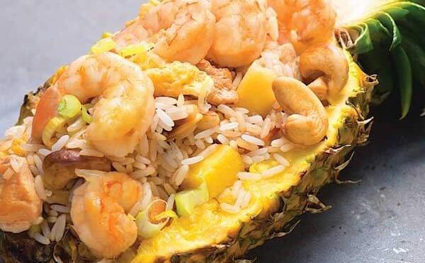 Khao Pad Saparod - Arroz Frito en Piña