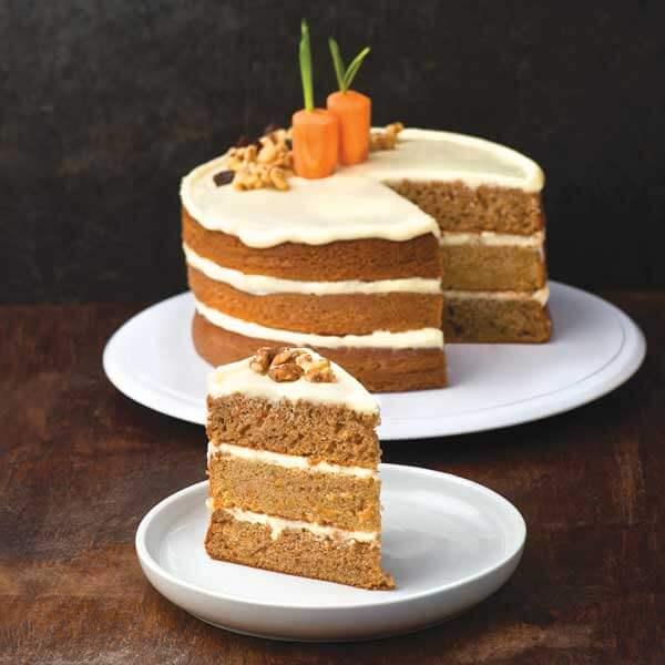 Receta Pastel de Zanahoria y Queso