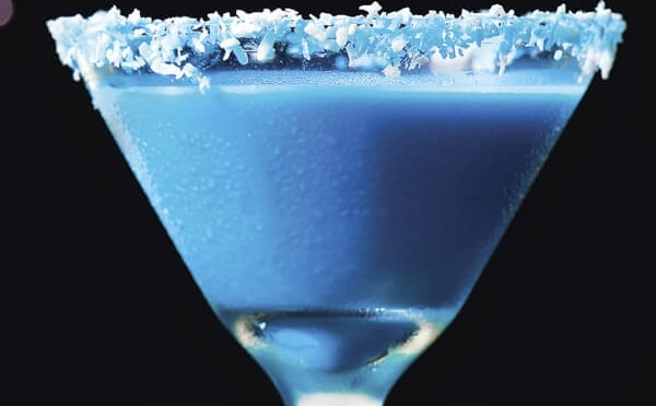 Receta Blue Christmas
