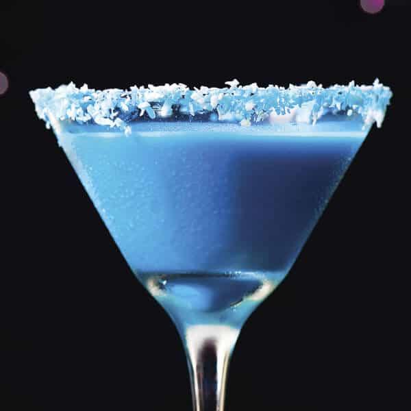 Receta Blue Christmas