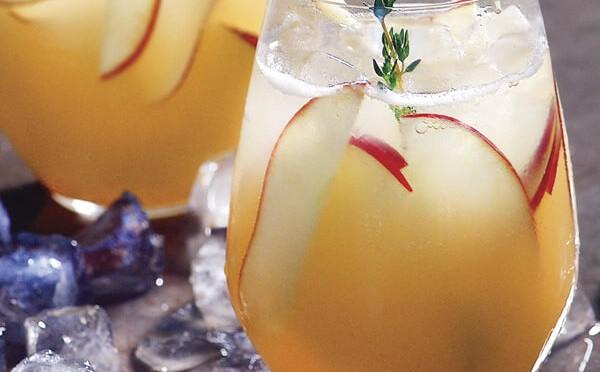 Receta Cocktail de manzana y pera