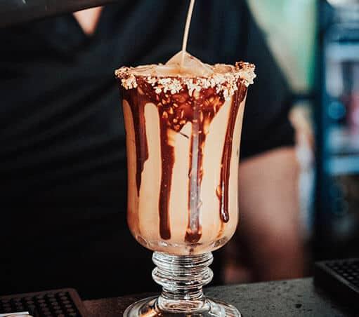 Receta de café helado de Terceto en Tegucigalpa