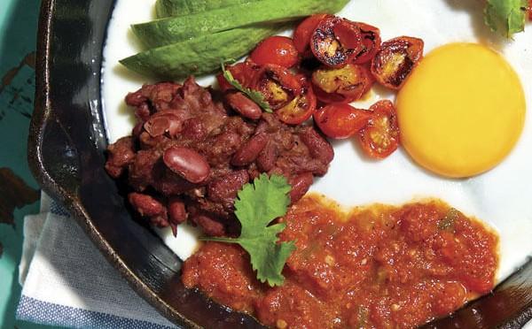 Huevos Rancheros un perfecta opción de desayuno fácil de preparar