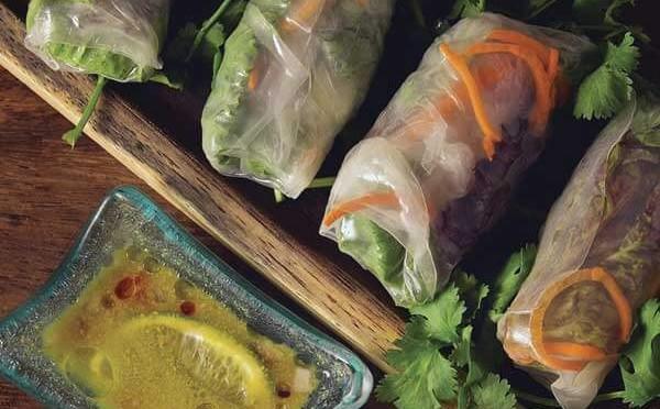 Summer Rolls una deliciosa entrada de arroz para el plato principal