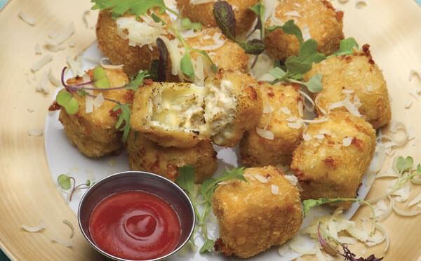 Cheesy Nuggets estan tan deliciosos que te chuparar los dedos