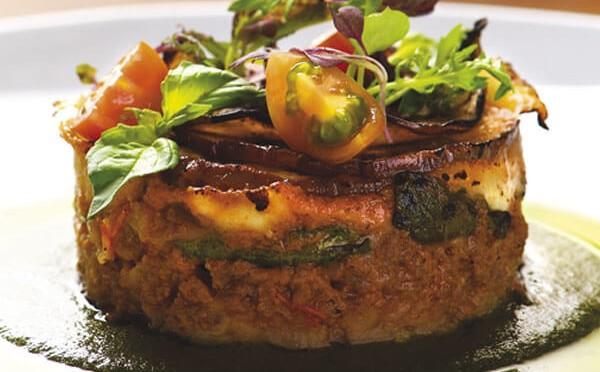 Moussaka de pollo un plantillo tan elegante como delicioso