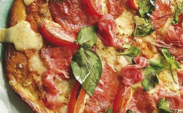 Pizzetta más pequeña pero con el mismo sabor a pizza