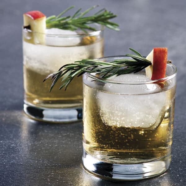 Espumante de pera para darle la bienvenida al año nuevo ¡Salud!