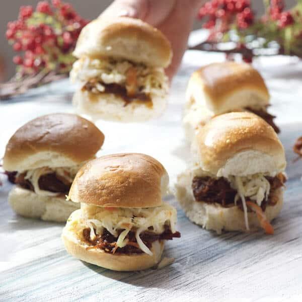 Pulled Pork Sliders unos deliciosos bocadillos para abrir el apetito