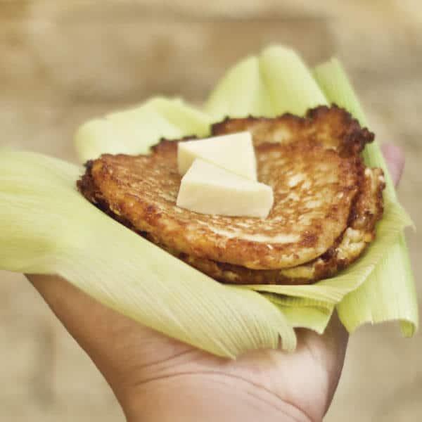 Fritas de elote un excelente postre o bocadillo para lo amantes del maíz
