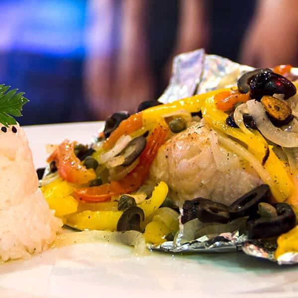 Pescado Papillote el plato principal que le da elegancia a tu mesa