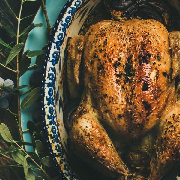 Pollo al horno una receta digna de compartir en familia