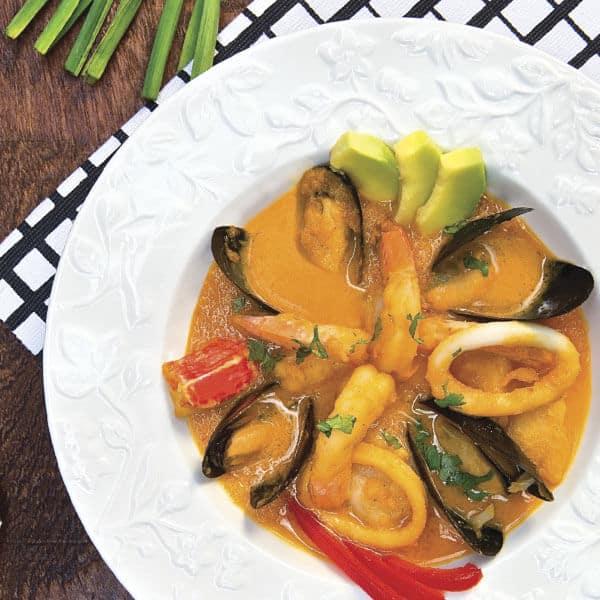 Mariscos a la piedra para disfrutar de una comida caribeña en casa