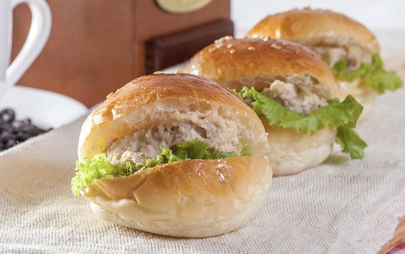 Alternativas saludables para una hamburguesa sin de carne Hamburguesas de Atún
