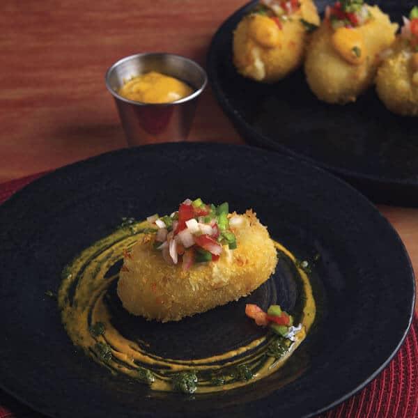 Las Carimañolas es un bocadillo de queso de origen Panámeño