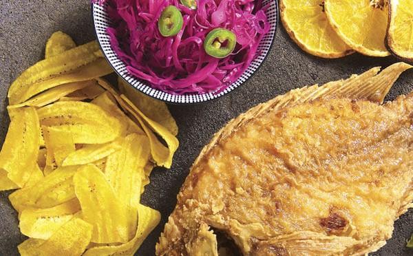 Pescado Frito al estilo lago de Yojoa para los amantes del sabor caribeño